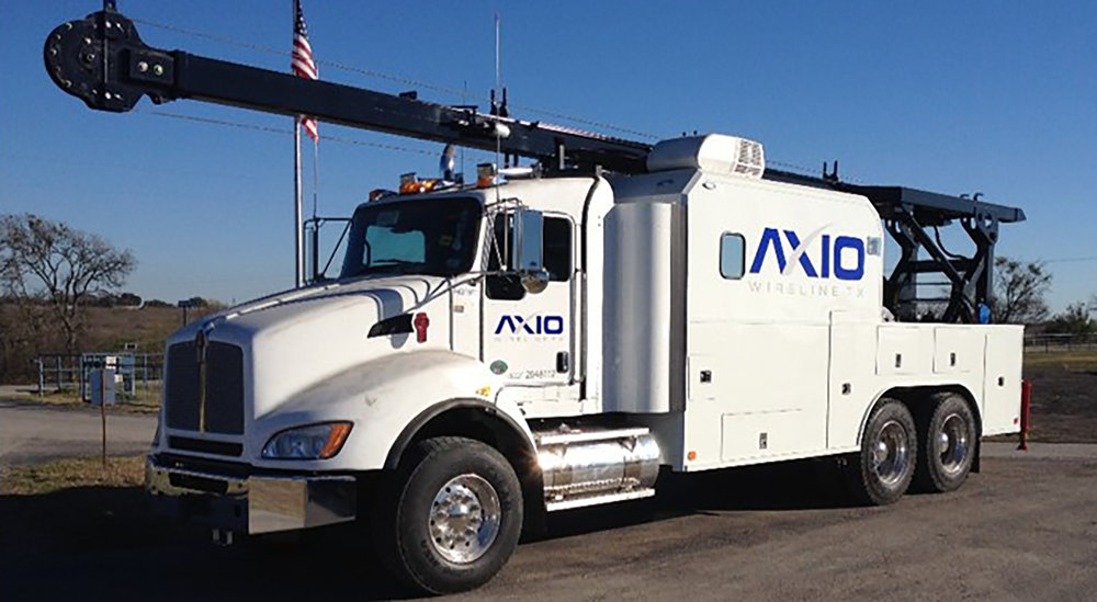 Axio Wireline Texas    Our Trucks