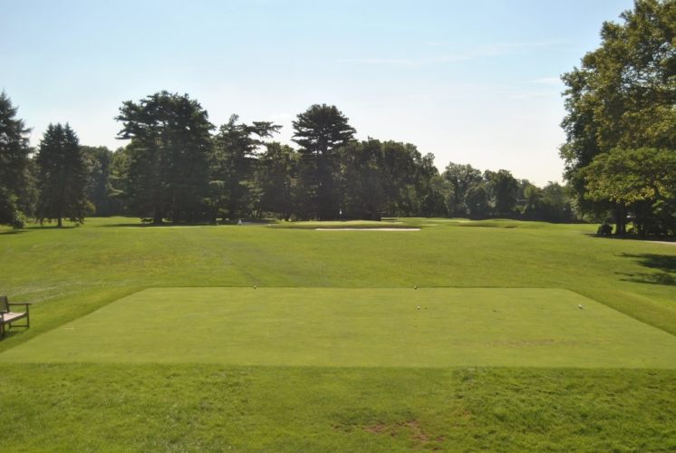 The par 3 twelfth hole.
