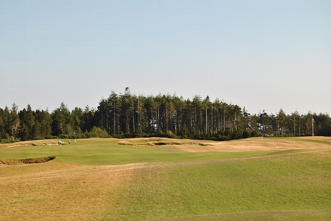 The 18th hole - my 72nd and final hole at Bandon Dunes.