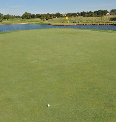 I three putted from here for my first bogey of the round.