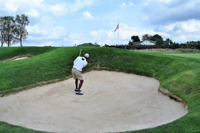 I spent too much time in the bunkers at Oakmont