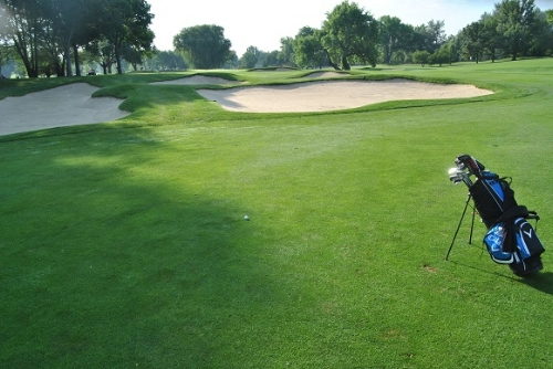I continued to drive the ball well with my drive on the 7th hole.