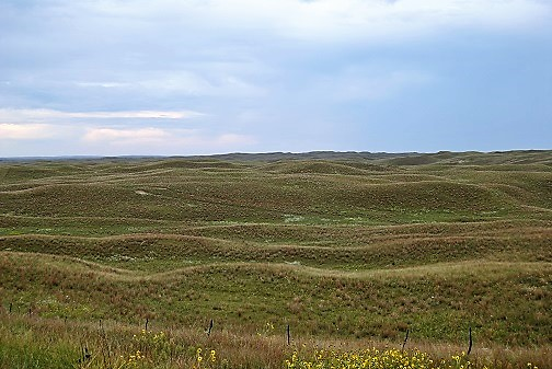 The Sand Hills - how did someone come up with the ideal to put a golf course here.