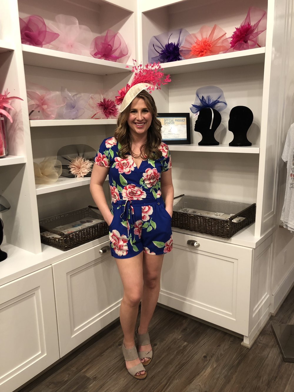 Thank you to  The Hat Girls  for this beautiful fascinator!!  Click the photo for outfit deets.