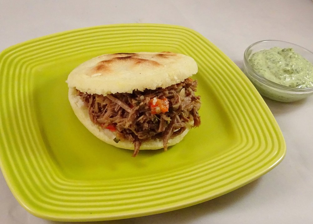 Arepa Shredded Beef (2).JPG
