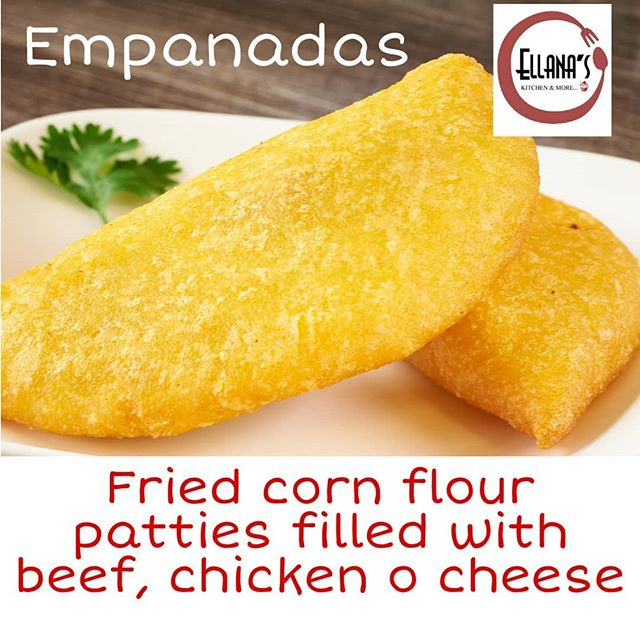 "Venezuelan empanadas made with corn flour (gluten free) and stuffed with anything you can imagine.  Commonly sold in front porches or street vendors across the country where you can hear them from far advertising their dish off the top of their lungs ""Eeeempanadas"" #newtonmass #newtoncenter #bostonfoodies #venezuelansinboston #venezolanosboston #venezuelanfood #comidavenezolana #comidalatina #empanadas #glutenfree #venezolanosenmassachusetts #foodies"