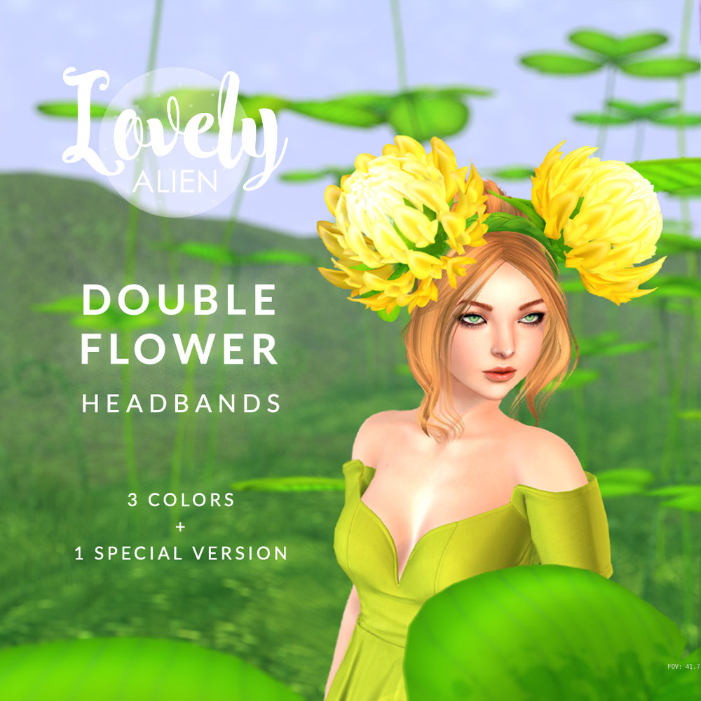 ((LovelyAlien)) - DoubleFlower Headband.jpg