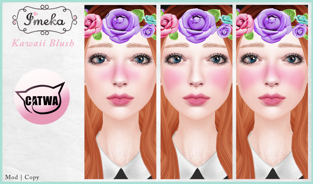 {Imeka} Kawaii Blush {Catwa Head}.png