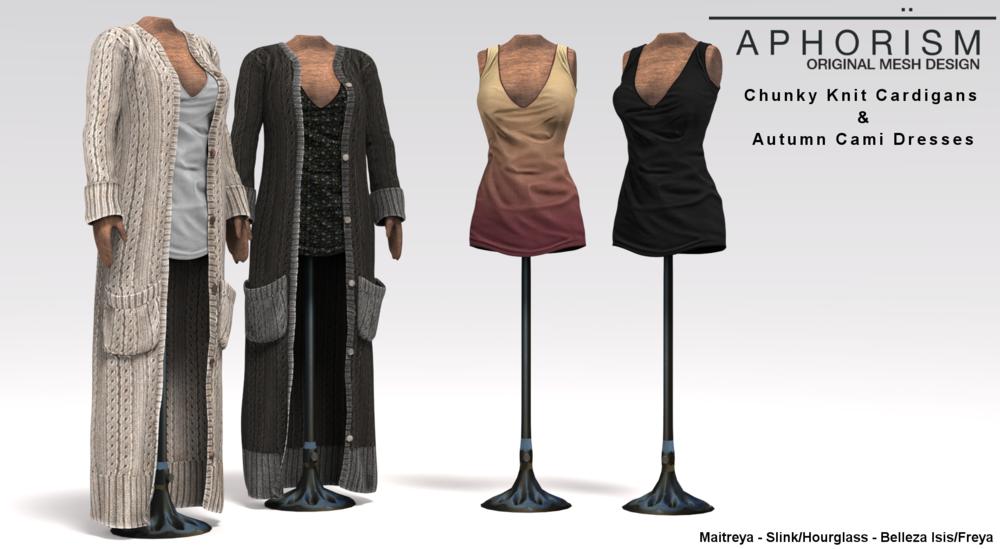 !APHORISM! Cardigans & Dresses Ad.png