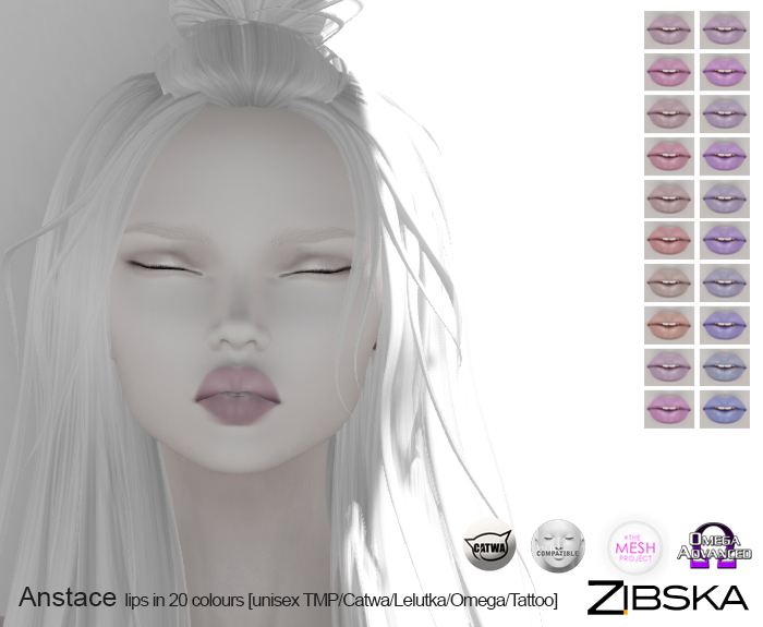 Zibska ~ Anstace Lips in 20 Colours.jpg