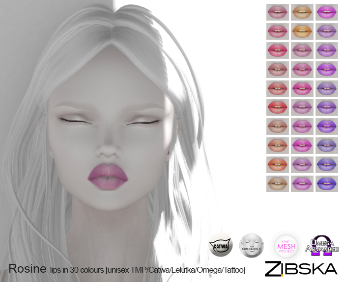 Zibska ~ Rosine Lips in 30 Colours.jpg