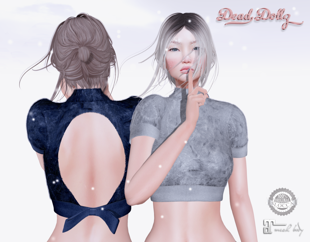 Dead Dollz - Polar Faux Fur Top TSS Winter AD.png