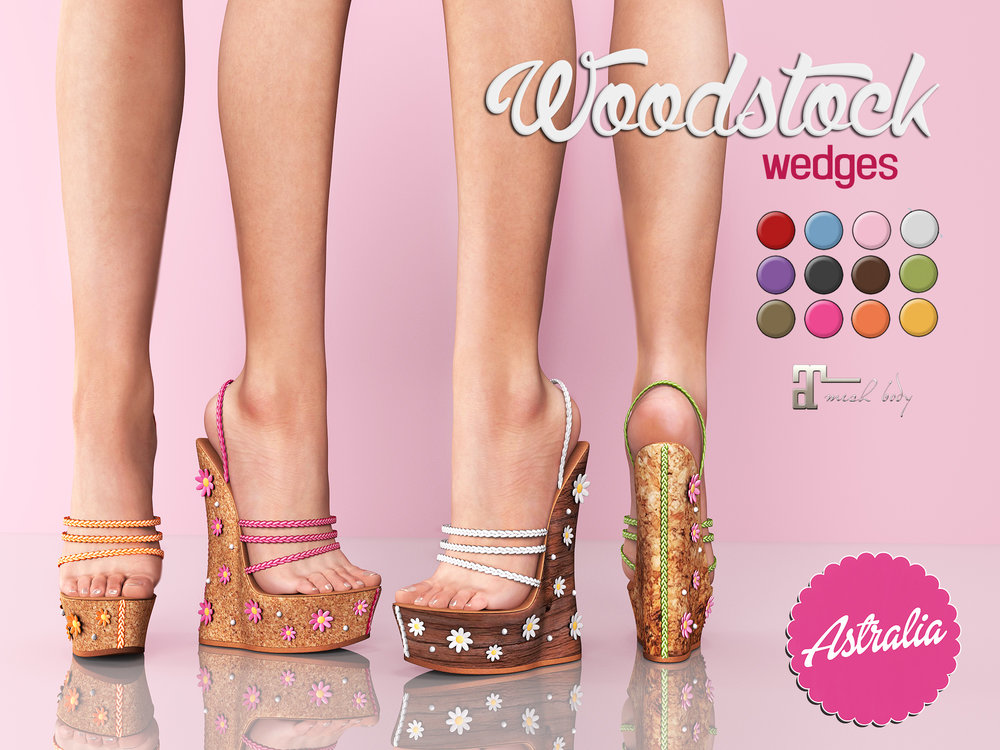 Astralia - Woodstock wedges