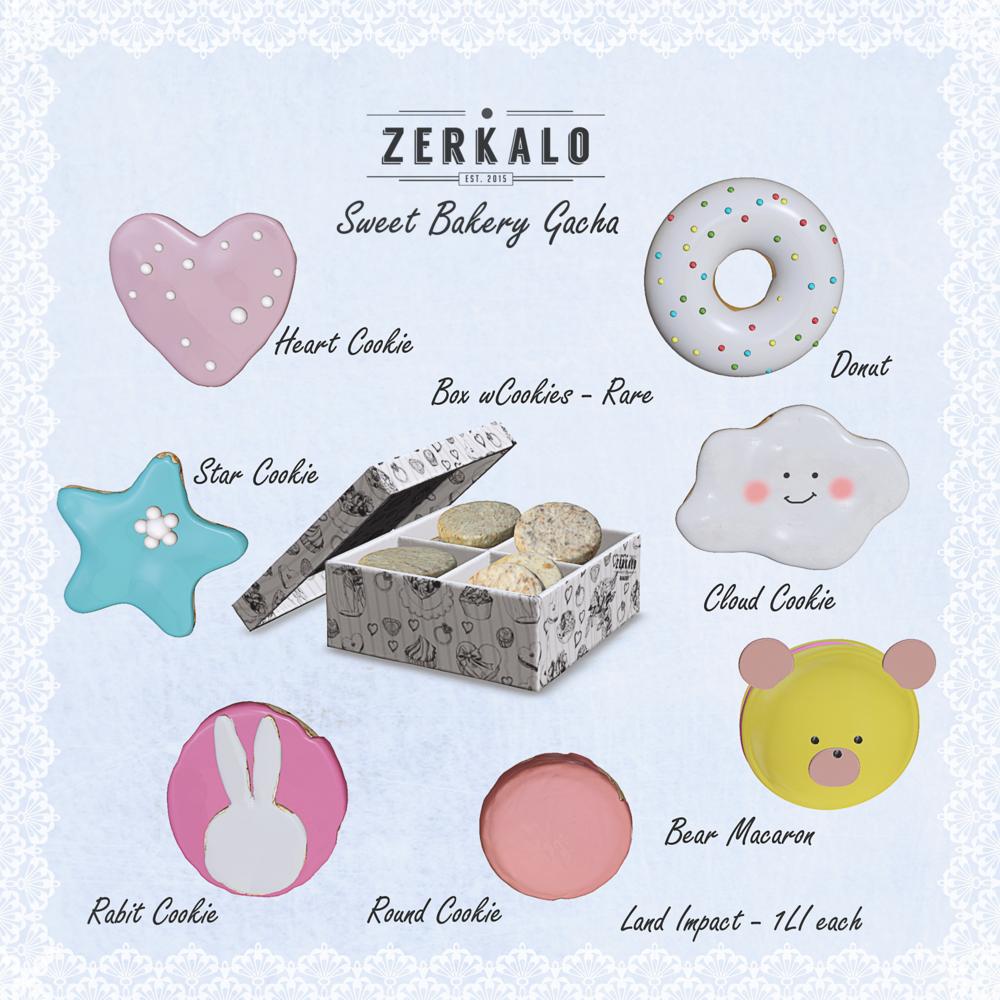 [ zerkalo ] Sweet Bakery Gacha