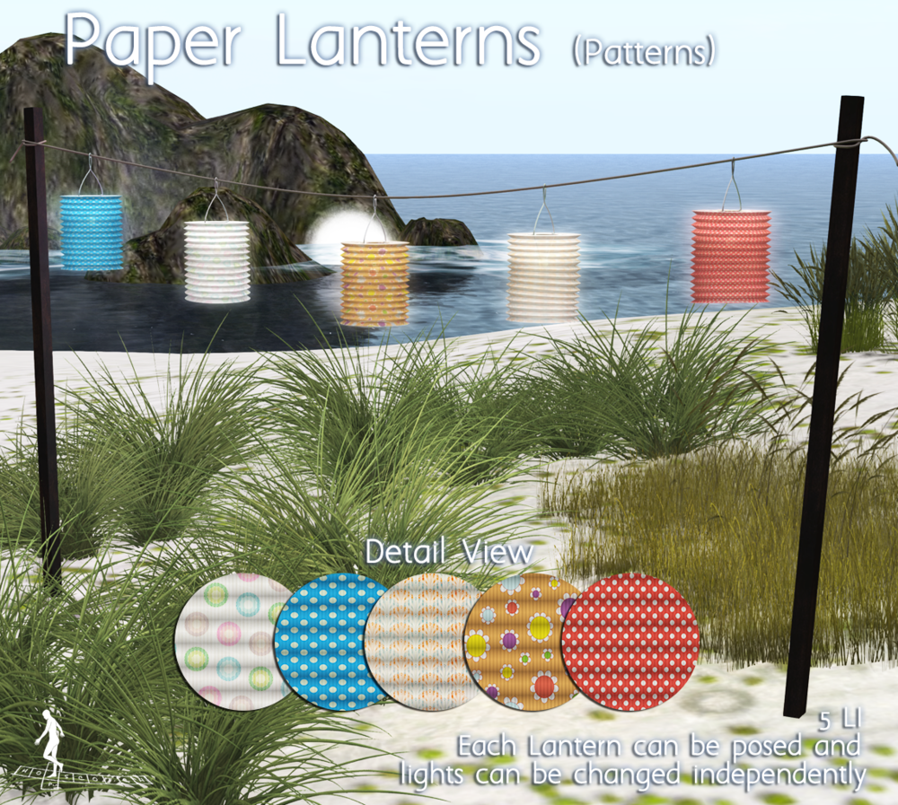 HopScotch - Paper Lanterns Patterns