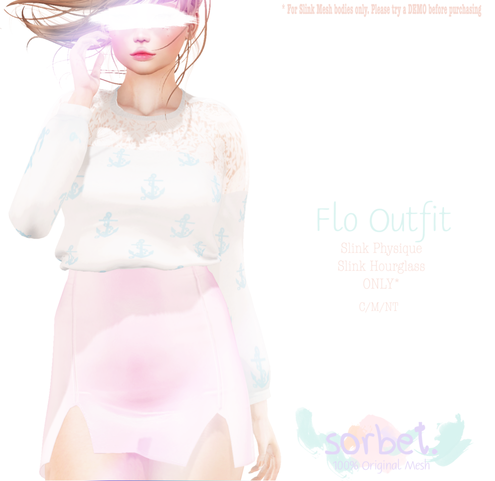 Sorbet. Flo Outfit
