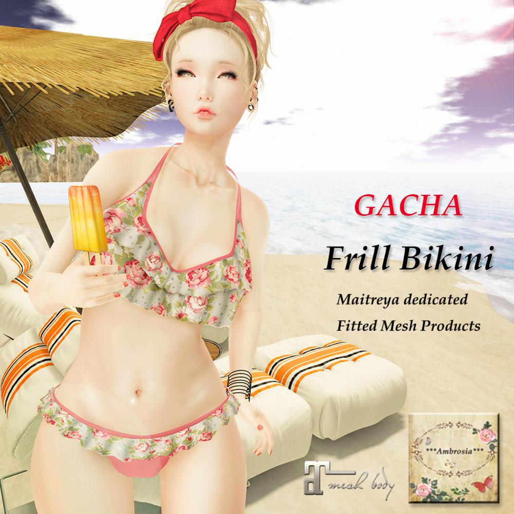 Ambrosia - Frill Bikini {Gacha}