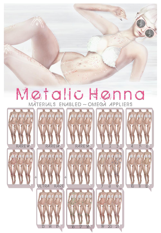 Go&See - Metalic Henna - Gacha