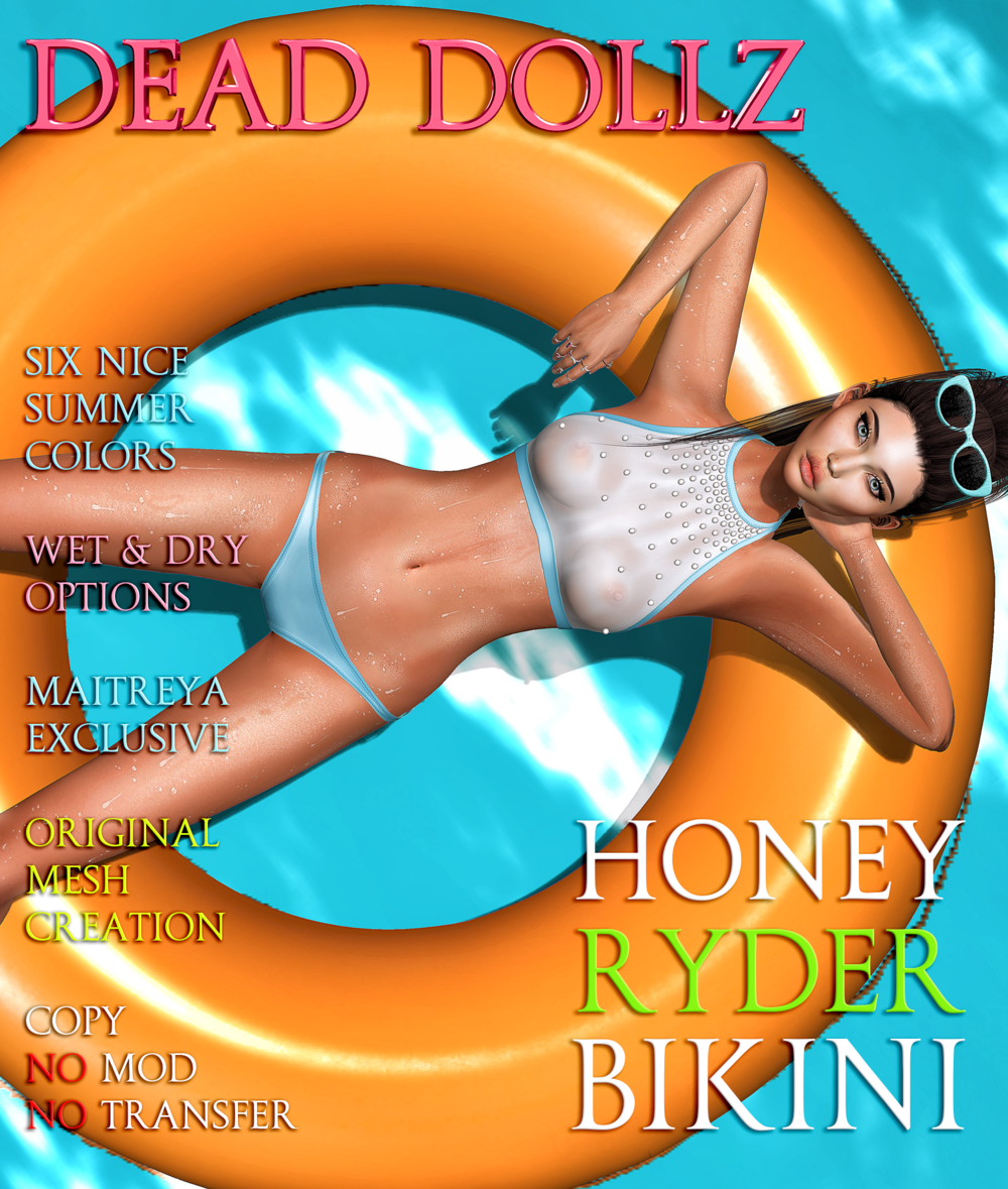 Dead Dollz - HoneyRyder Bikini