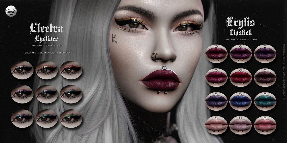-SU!- Electra Eyeliner & -SU!- Erylis Lipstick