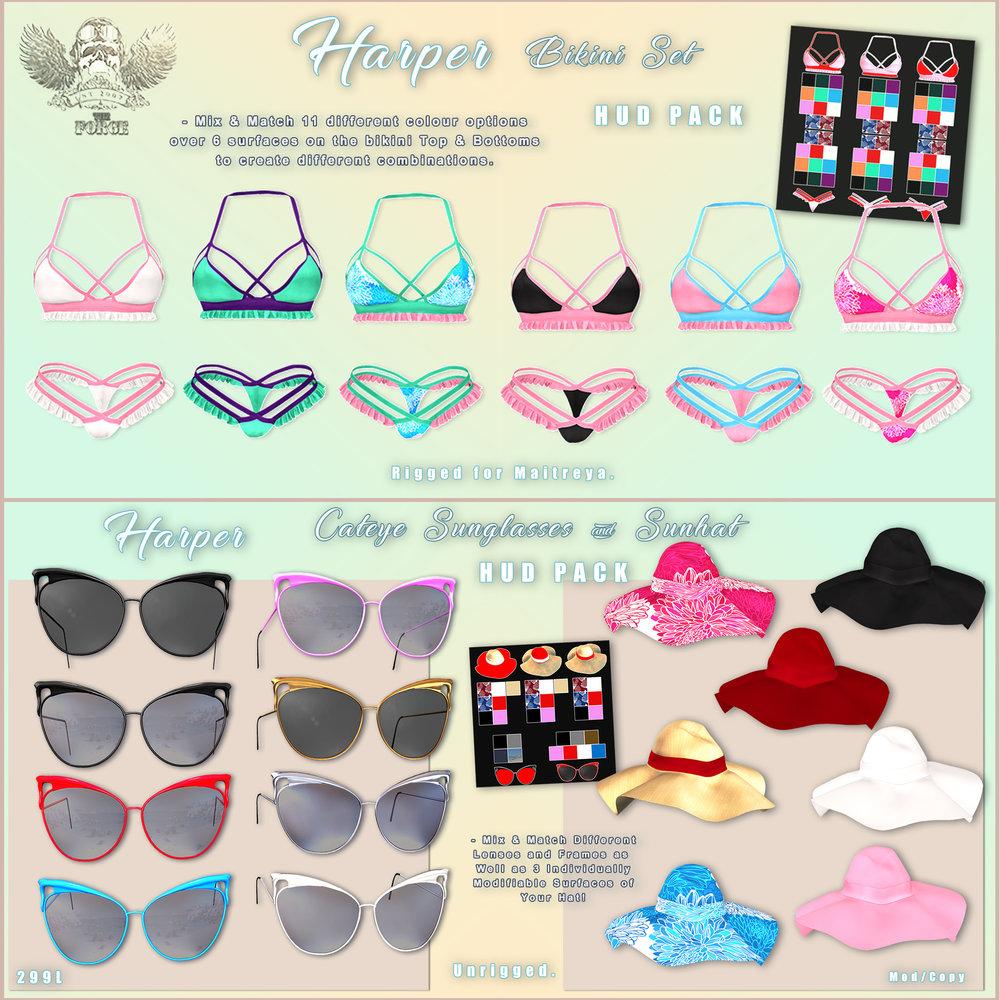 The Forge - Harper Bikini gacha