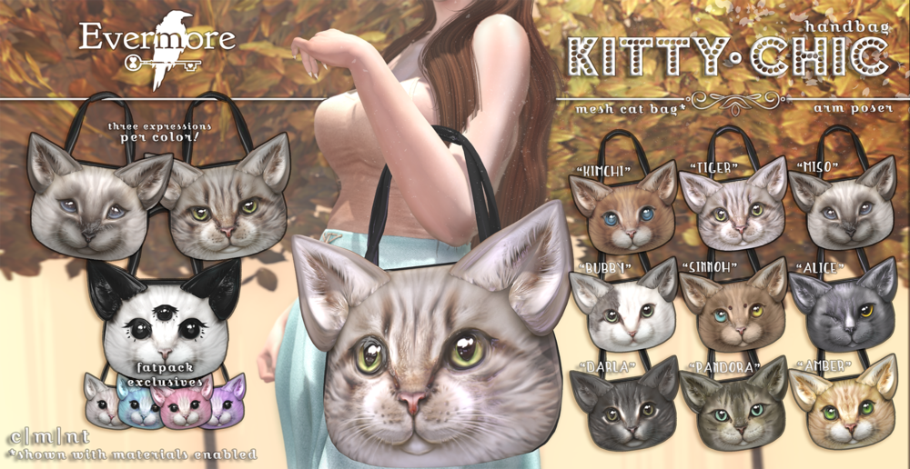 Evermore - Kitty Chic Handbag.png