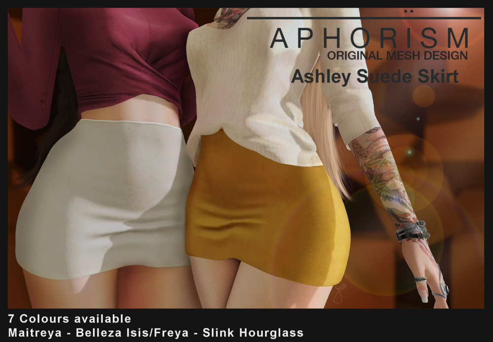 APHORISM - Ashley Suede Skirt.png