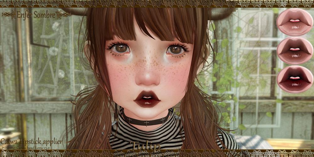 Enfer Sombre - Tulip Lipstick set  GIFT.jpg