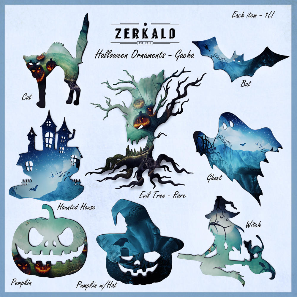 Zerkalo - Halloween Ornaments - Gacha Key.png