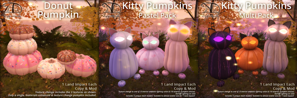 DDD - Kitty & Donut Pumpkins.png