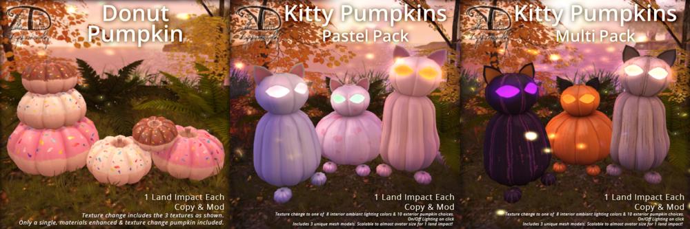 DDD - Kitty & Donut Pumpkins.png