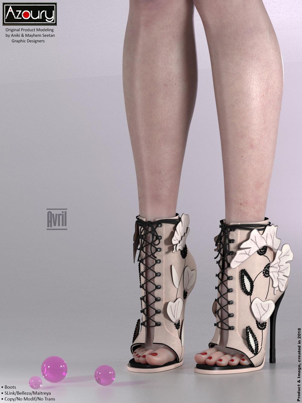 AZOURY - Avril Boots {Cream}.jpg