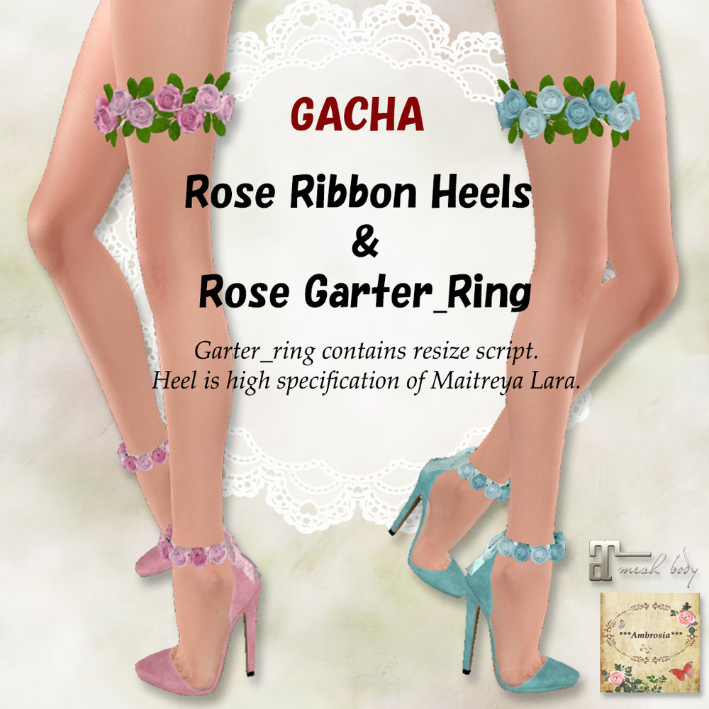 Rose Ribbon Heels & Rose Garter Ring AD.jpg