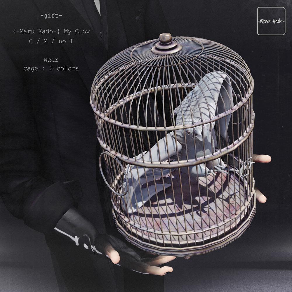 {-Maru Kado-} my crow (gift).jpg