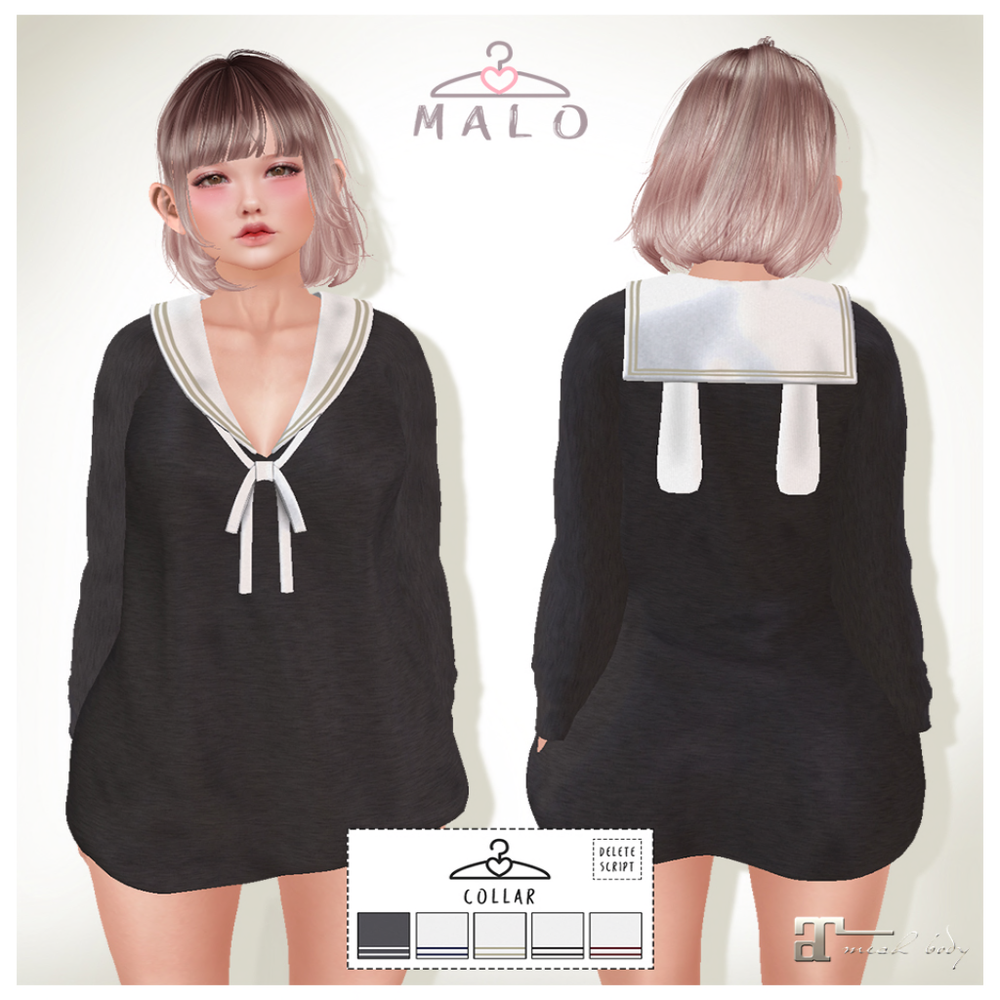 [MALO] Sailor Bunny Sweater