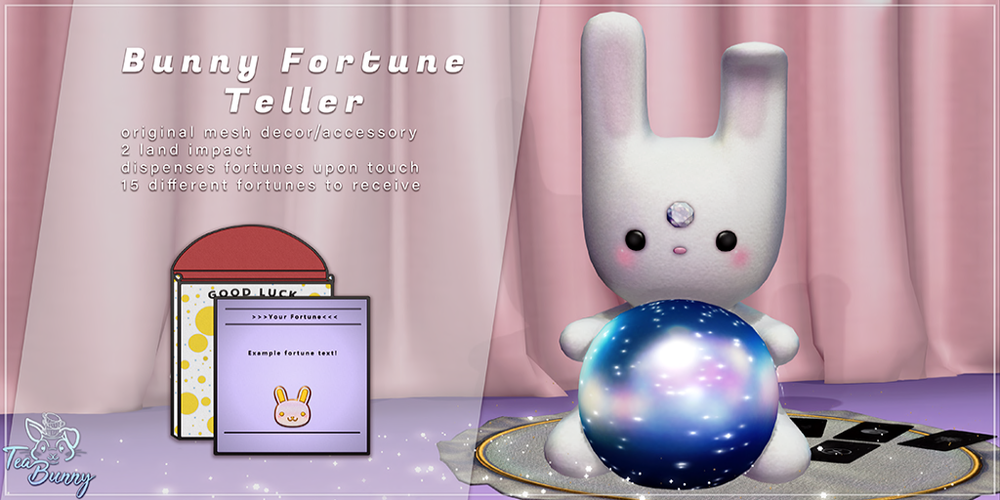 .TeaBunny. Bunny Fortune Teller