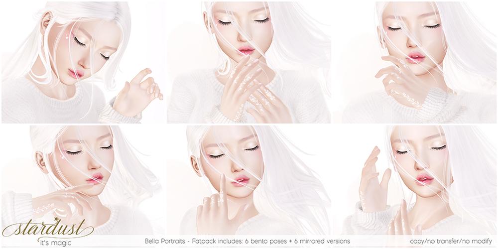 Stardust - Bella Portraits - FATPACK Bento Poses