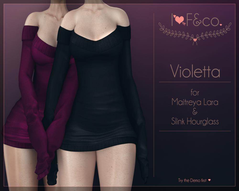 [I<3F] - Violetta