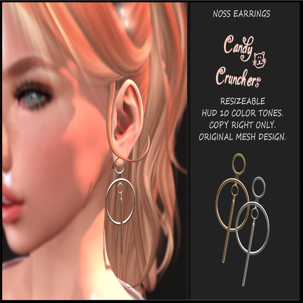 Candy Crunchers - Noss Earrings