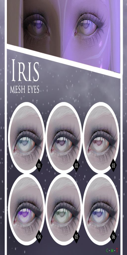 Le Forme Iris mesh eyes