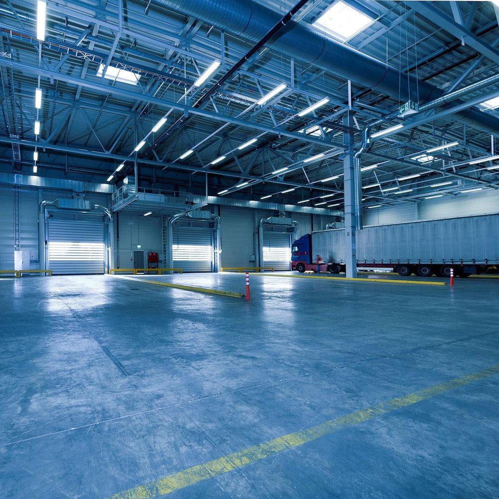 Industrial Warehouses -