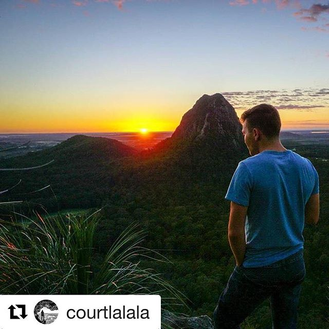 Glass House Mountains National Park features as our Park In Focus in the latest issue of Protected magazine, out soon!  ###  Repost @courtlalala ・・・ I'd much rather be waking up to chase the sunrise with you... @life.of.ryan39  ###  #mttibberoowuccum #glasshousemountains #glasshousemountainsnationalpark #glasshousemountainsnp #nationalparkgazettal #queenslandnationalparks #nationalparksqld #connectandprotect #protectedmagazine #natureconservation #nature #natureexperience #bushwalking #hiking #climbing #sunshinecoast #queensland #australia #australianmountains #sunrise