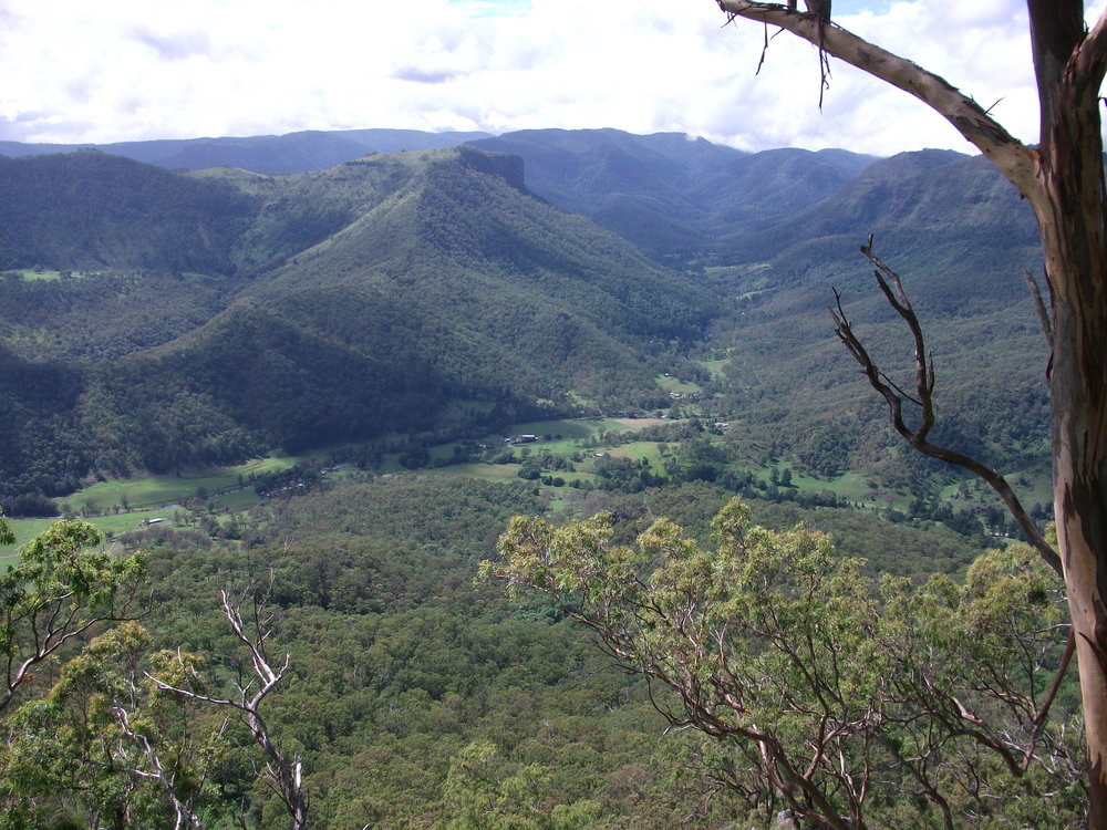 Neglected Mt: where Robert Collins took Lord Lamington walking (Supplied)