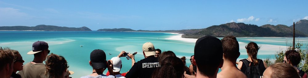 Whitsunday, a crowded view Ana Rousseaud