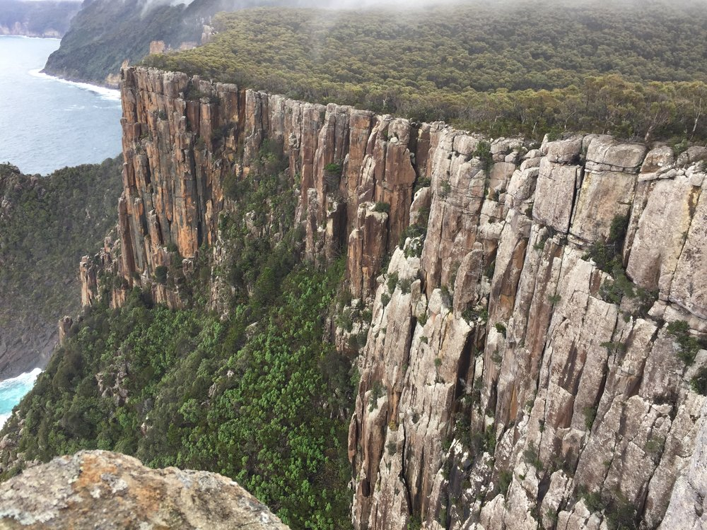 Wild, majestic scenery of the Three Capes