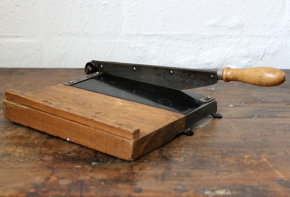Small Wooden Guillotine