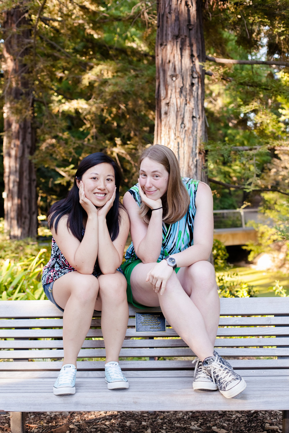 Debra (left) and Natalia (right). Photo by  Emily Nguyen Photography