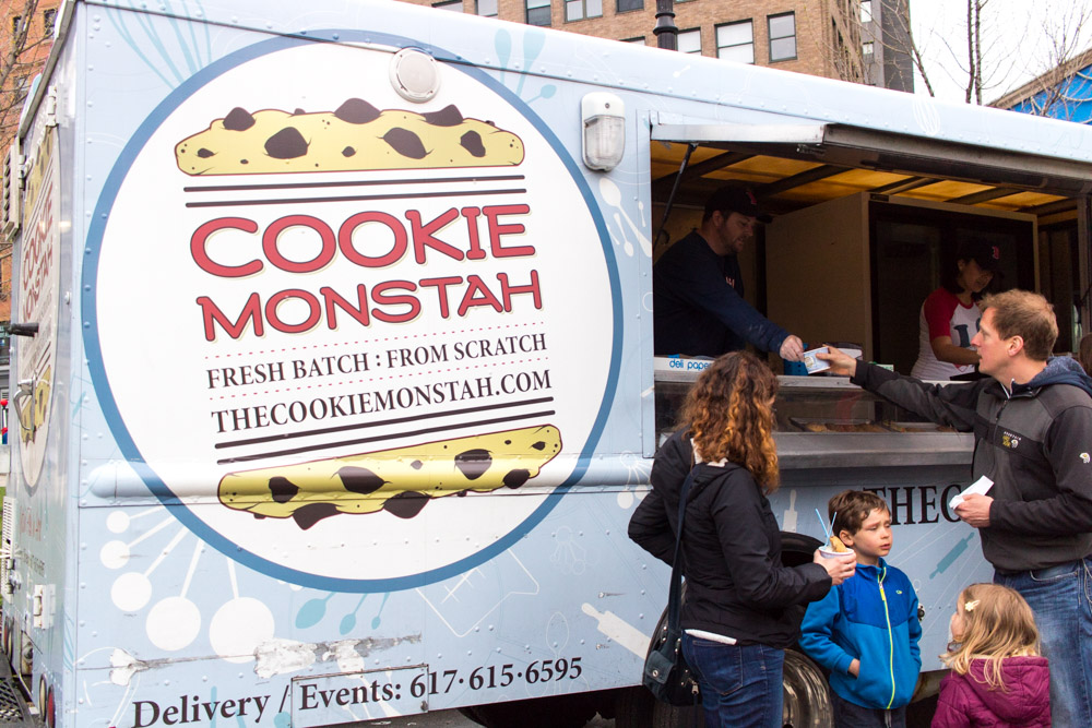 Cookie Monstah - serving fresh cookies and ice cream