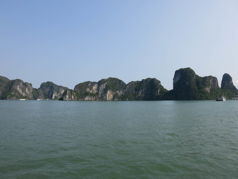 Ha long Bay - a world heritage site with endless views