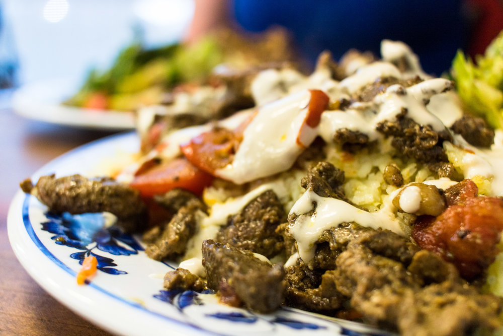 Wally's - a delicious hole-in-the-wall serving Mediterranean/Lebanese food!